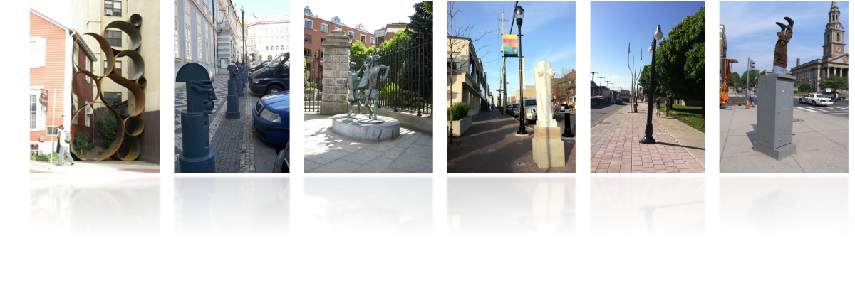 Photographs of Public Art along various streets in Ottawa