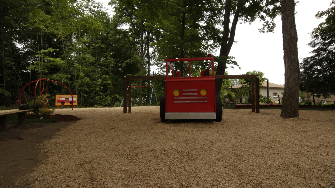New firefighter park theme