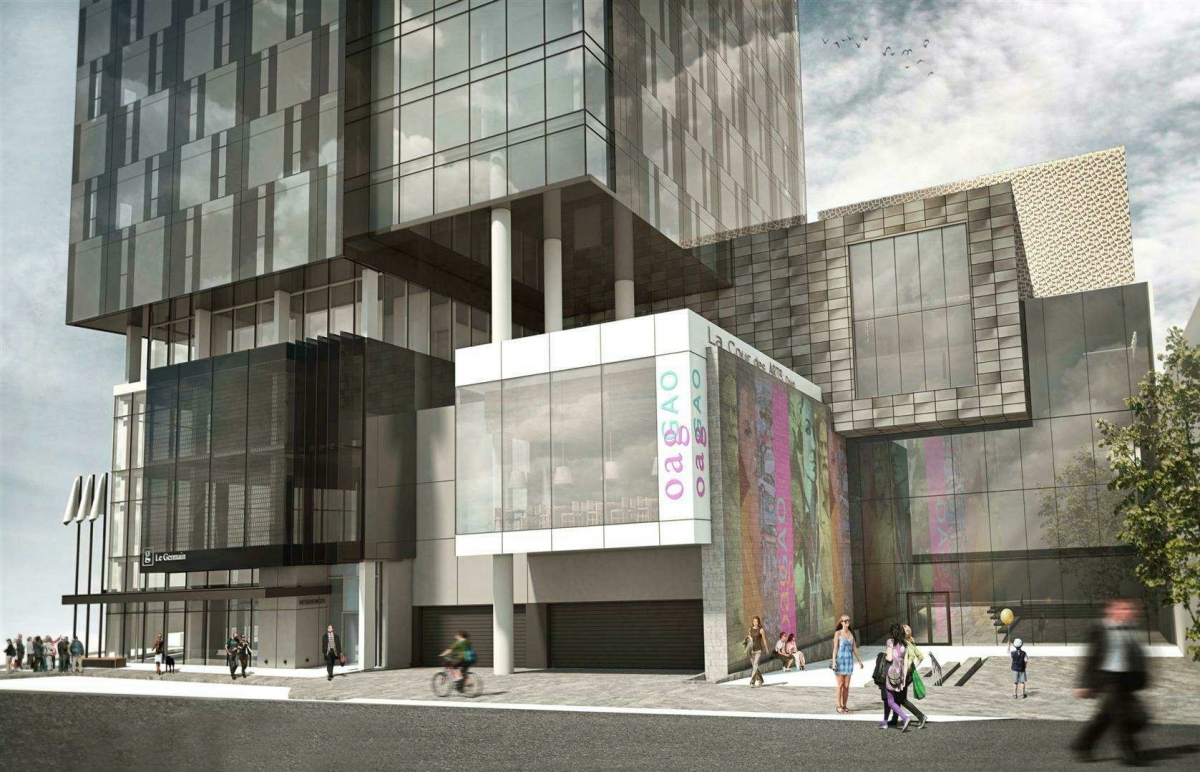 Ottawa art gallery oag expansion and arts court for Box design hotel