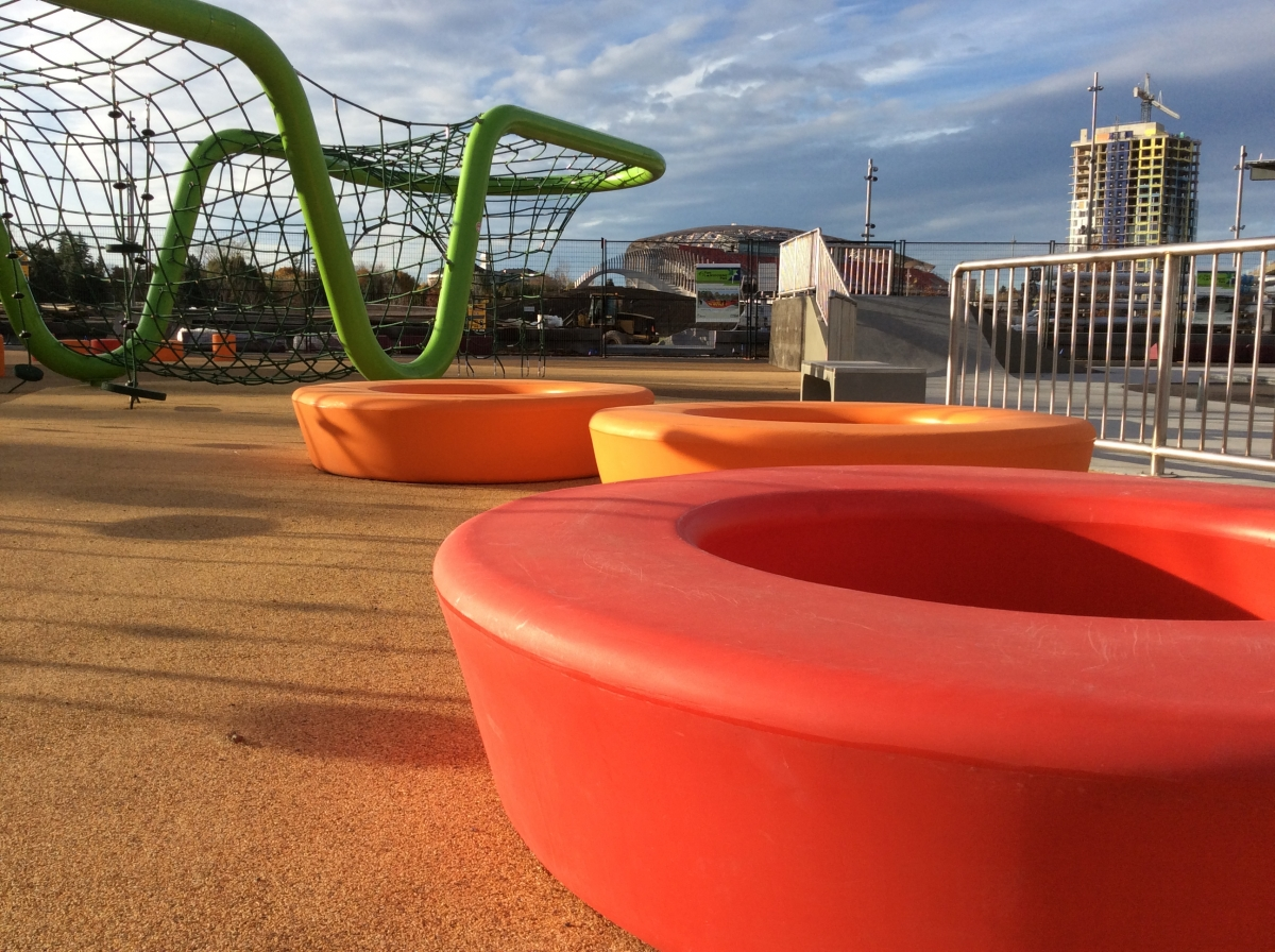 Children's Play Area at Lansdowne Park