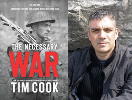 The Necessary War by Author Tim Cook