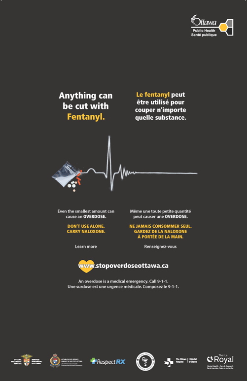 Anything can be cut with fentanyl poster. Overdose awareness poster.Anything can be cut with fentanyl poster. Overdose awareness poster.