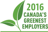 2016 Canada's Top Greenest Employers