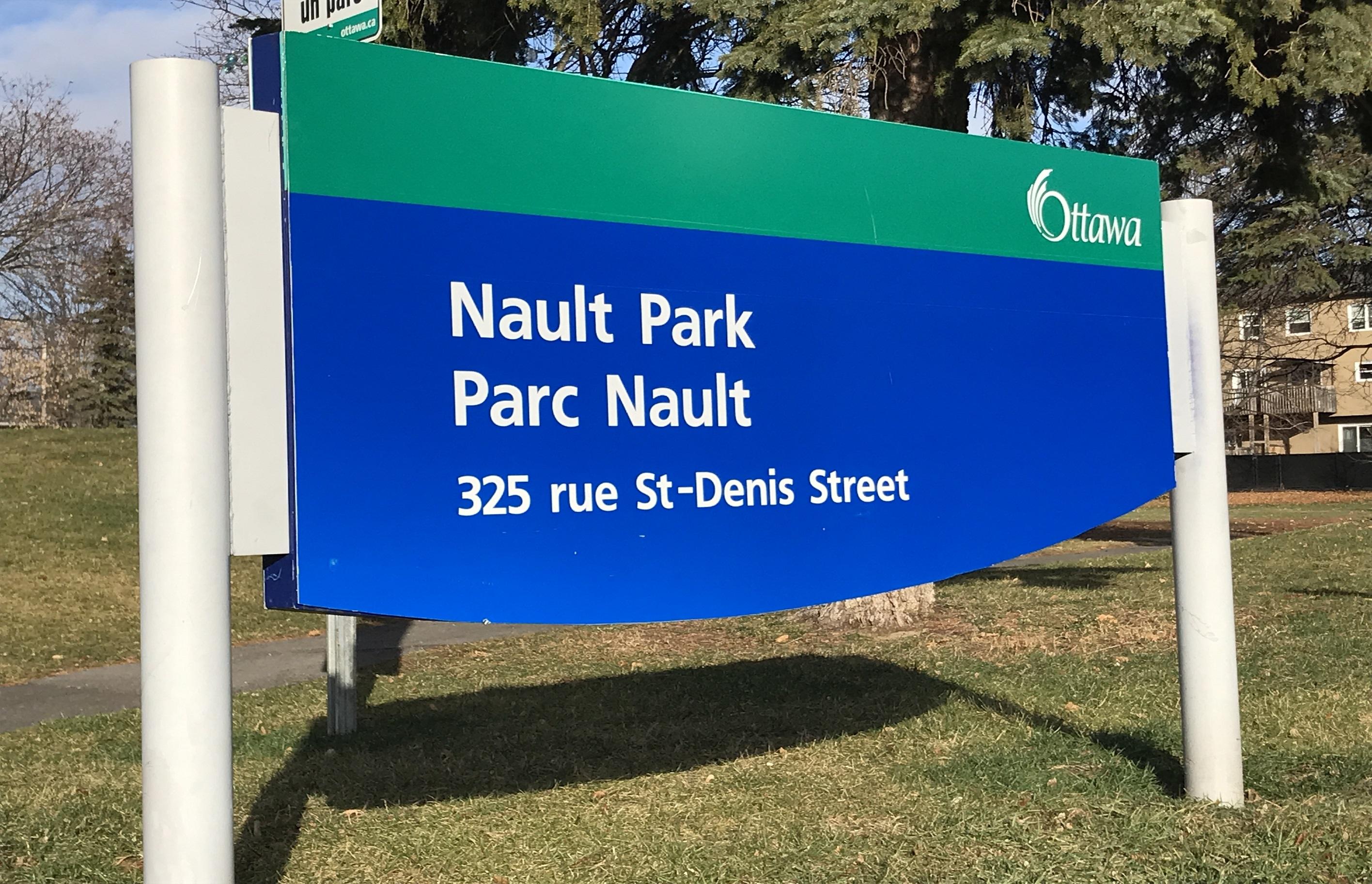 Parc Nault Sign
