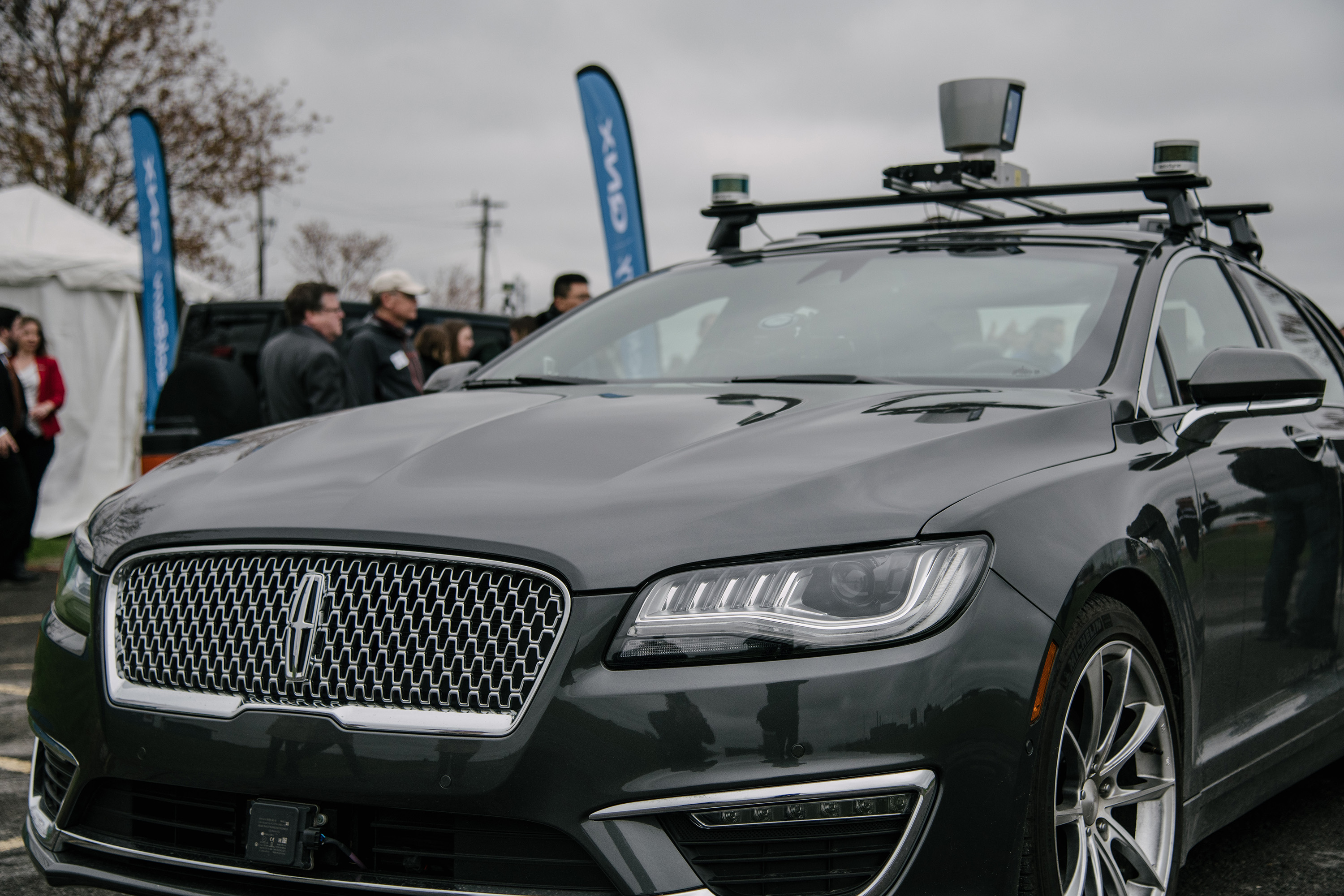 Blackberry QNX Connected autonomous vehicle