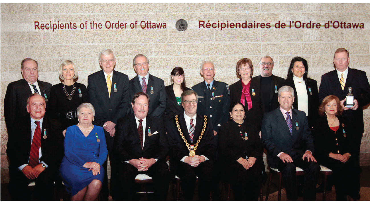 Recipients of the Order of Ottawa photo