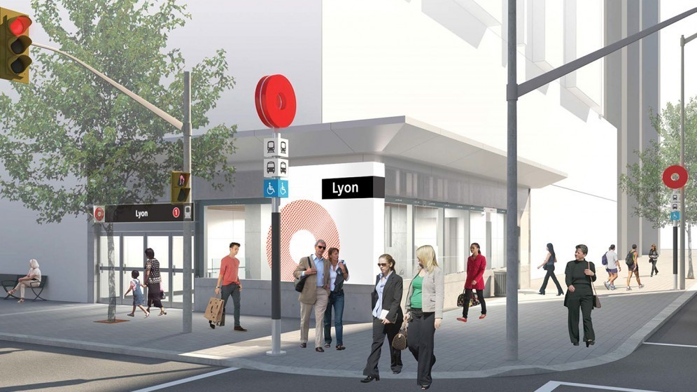Rendering of Lyon Station