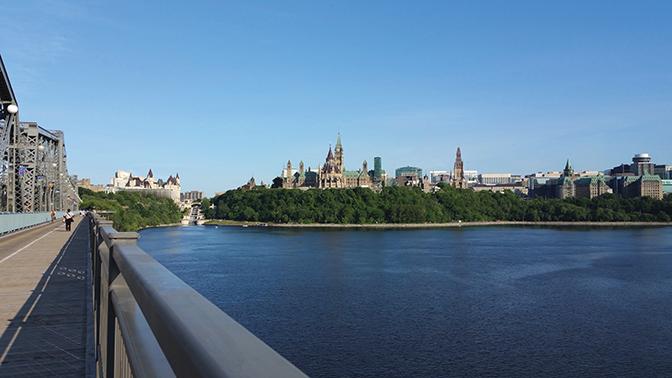 Vue du pont Alexandra