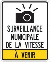 Panneau: Radar municipal – Bientôt