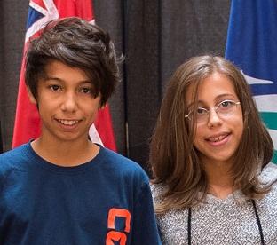 Rebeca and Jonatan