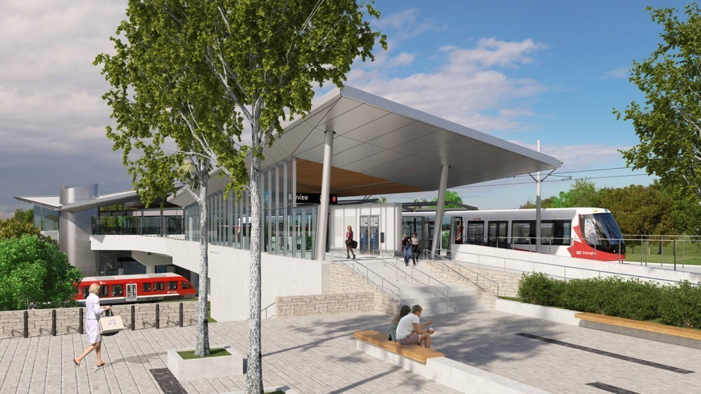 Rendering of Bayview Station