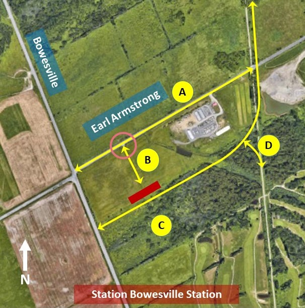 Connectivity Overview – Getting to Bowesville station