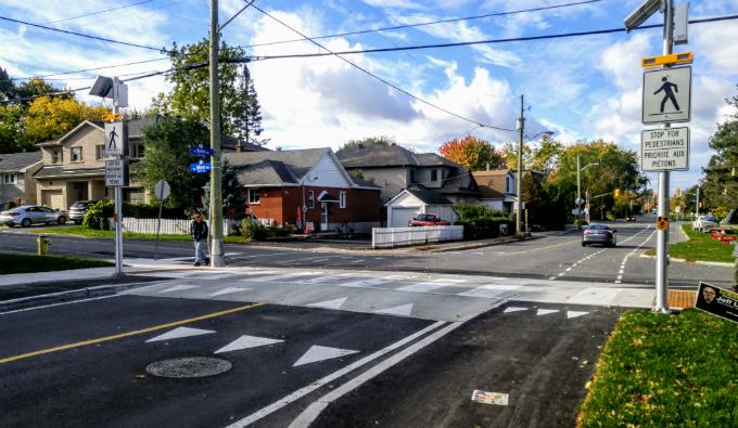 Byron Avenue Pedestrian Crossing