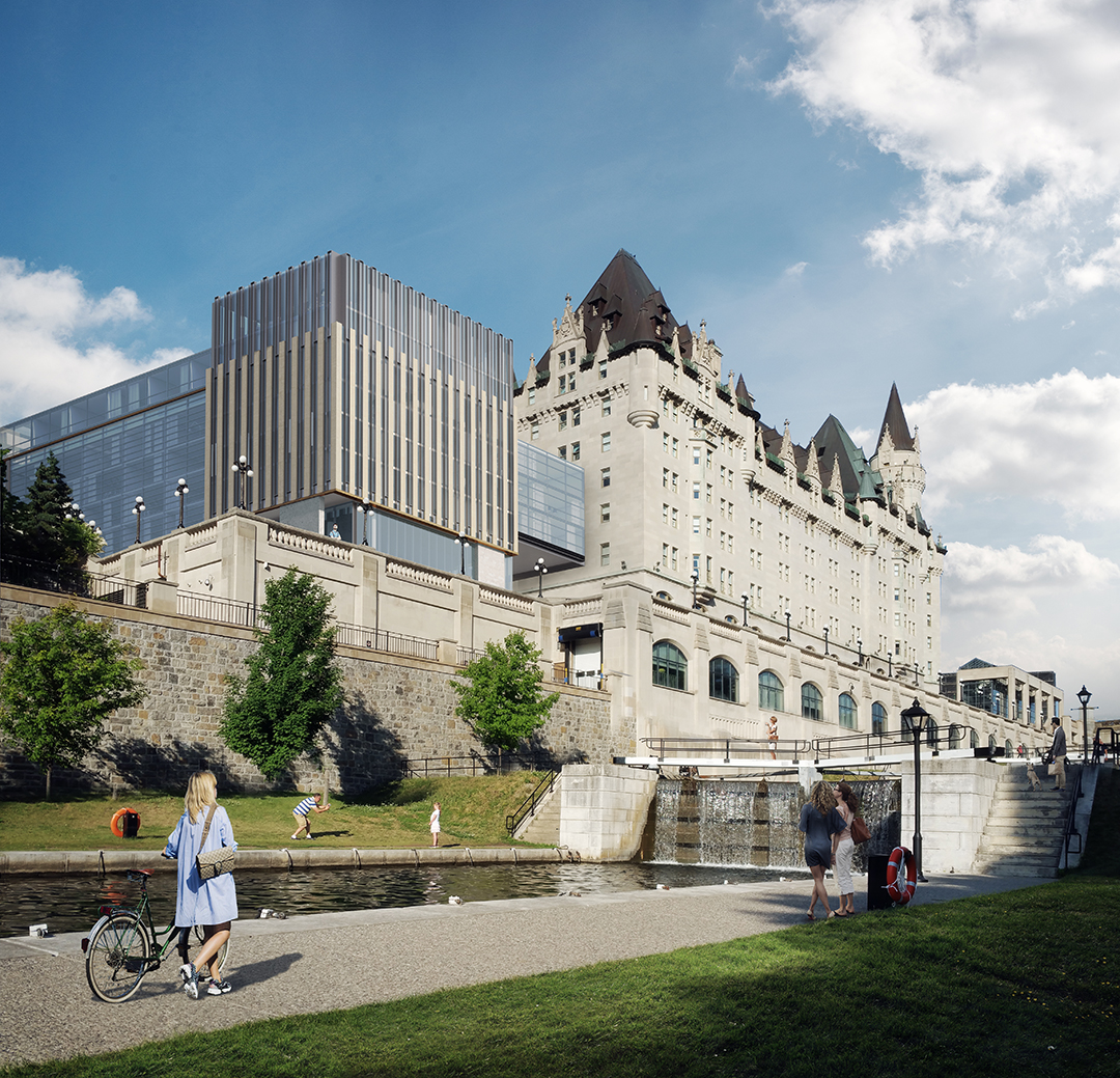View from the Rideau Canal Locks