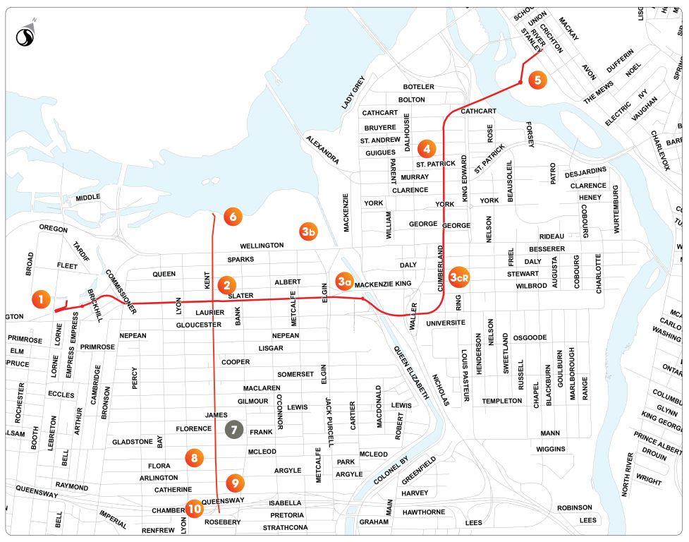 Combined Sewage Storage Tunnel map