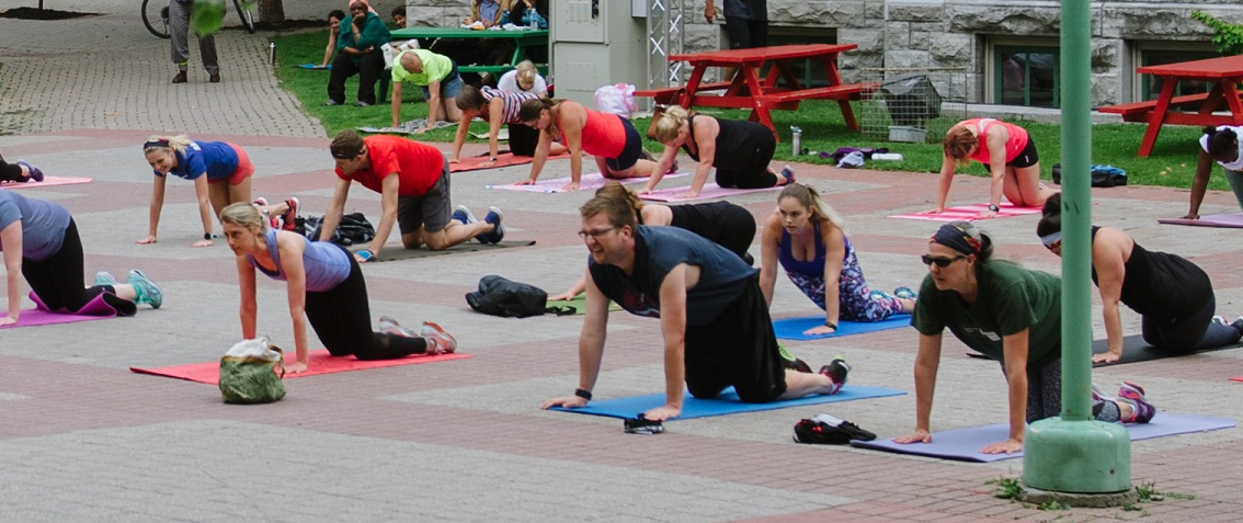 Conditionnement physique MoveCamp