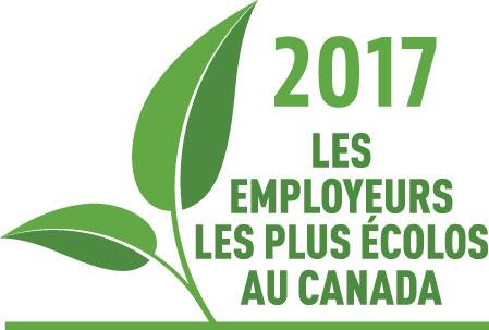 2017 LES EMPLOYEURS LES PLUS ÉCOLOS AU CANADA