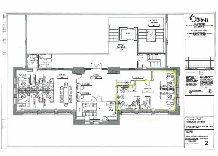 Horticulture Building floor plan