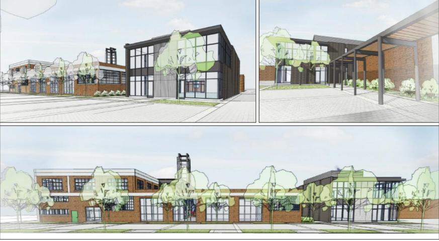 Concept plan for Innovation Centre