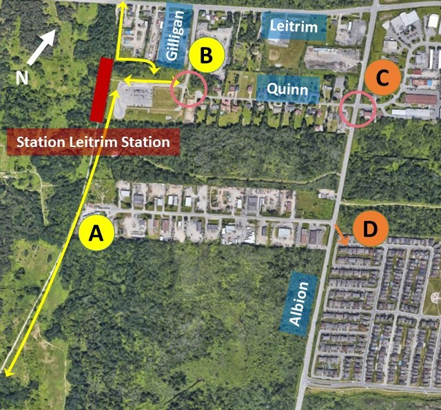 Connectivity Overview – Getting to Leitrim station