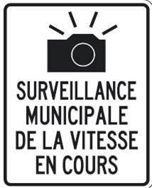 Panneau : Radar municipal actif