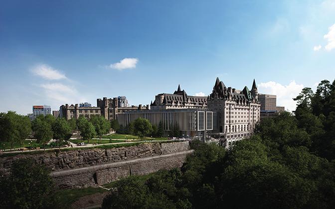 Vue de la Cité parlementaire
