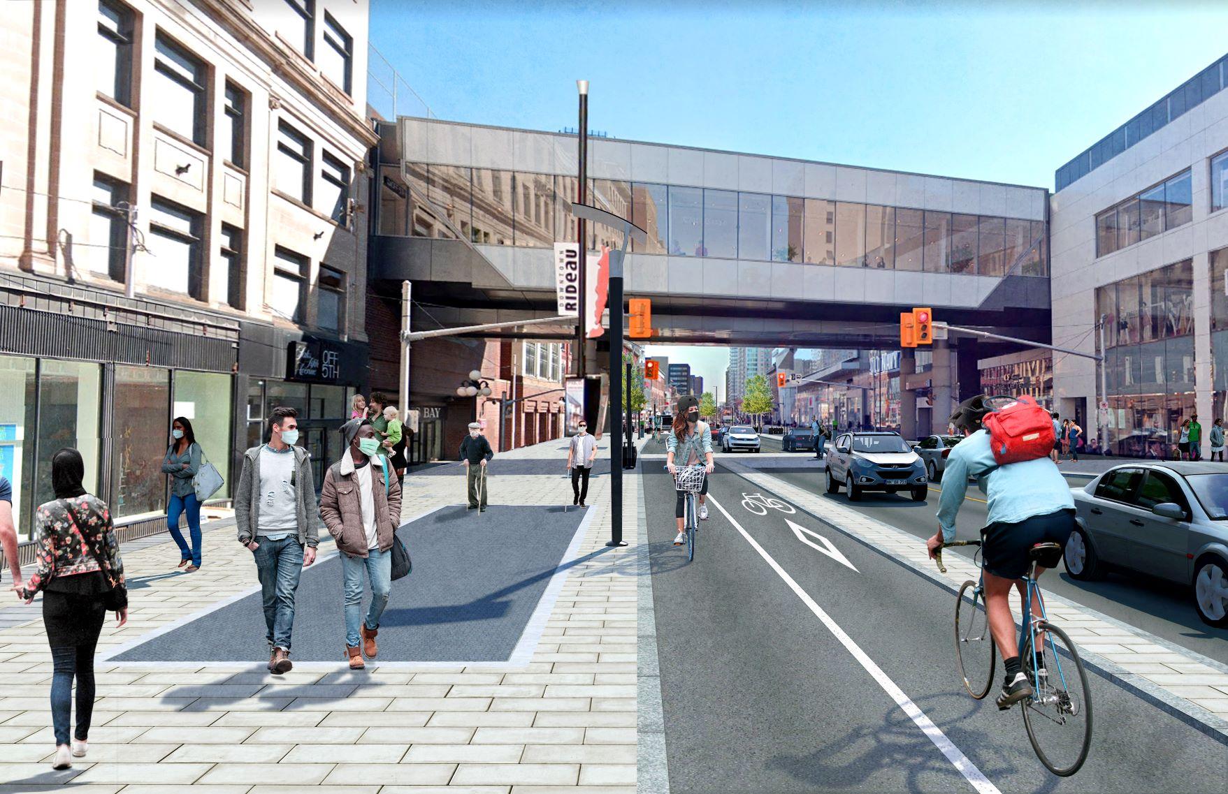 How Rideau Street will soon look