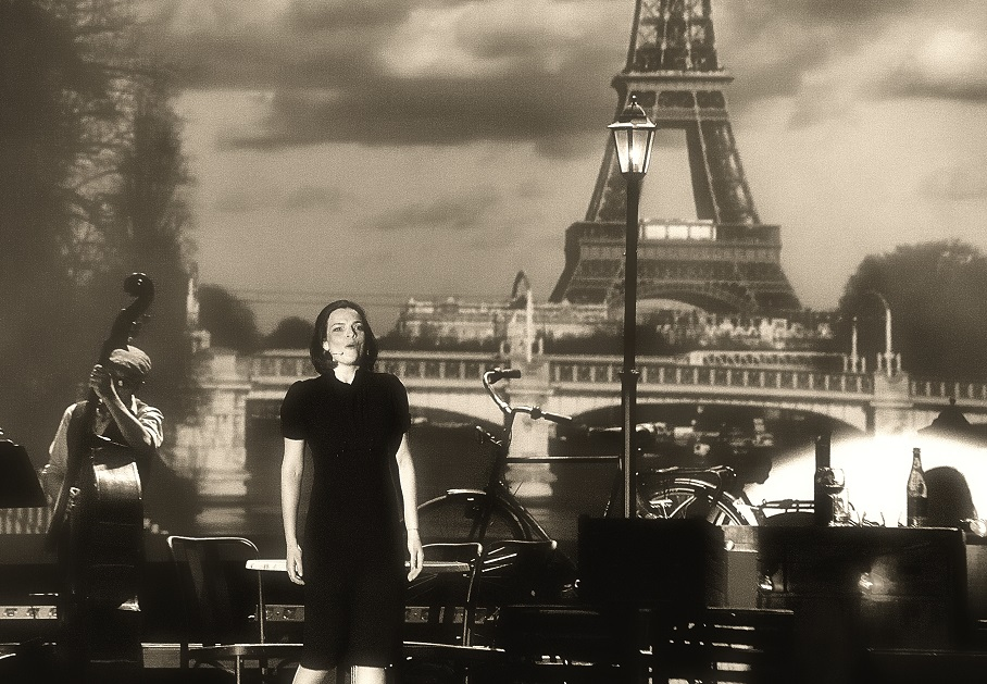 Edith Piaf and the Eiffel Tower