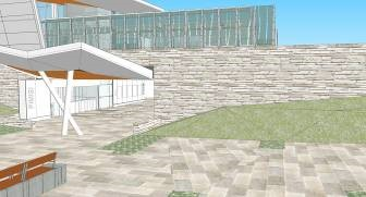 Rendering of public art at Pimisi Station