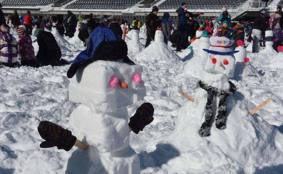 bonshommes de neige