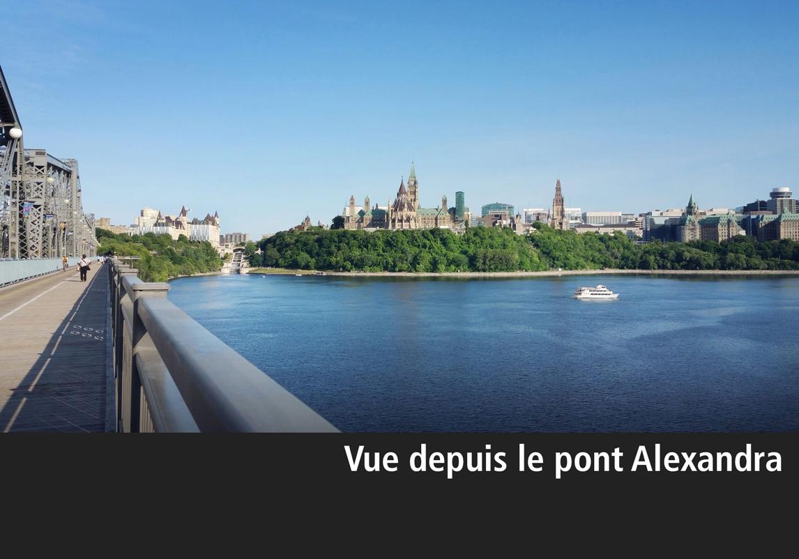 Rendu architectural de l'agrandissement de l'hôtel Château Laurier vu du pont Alexandria
