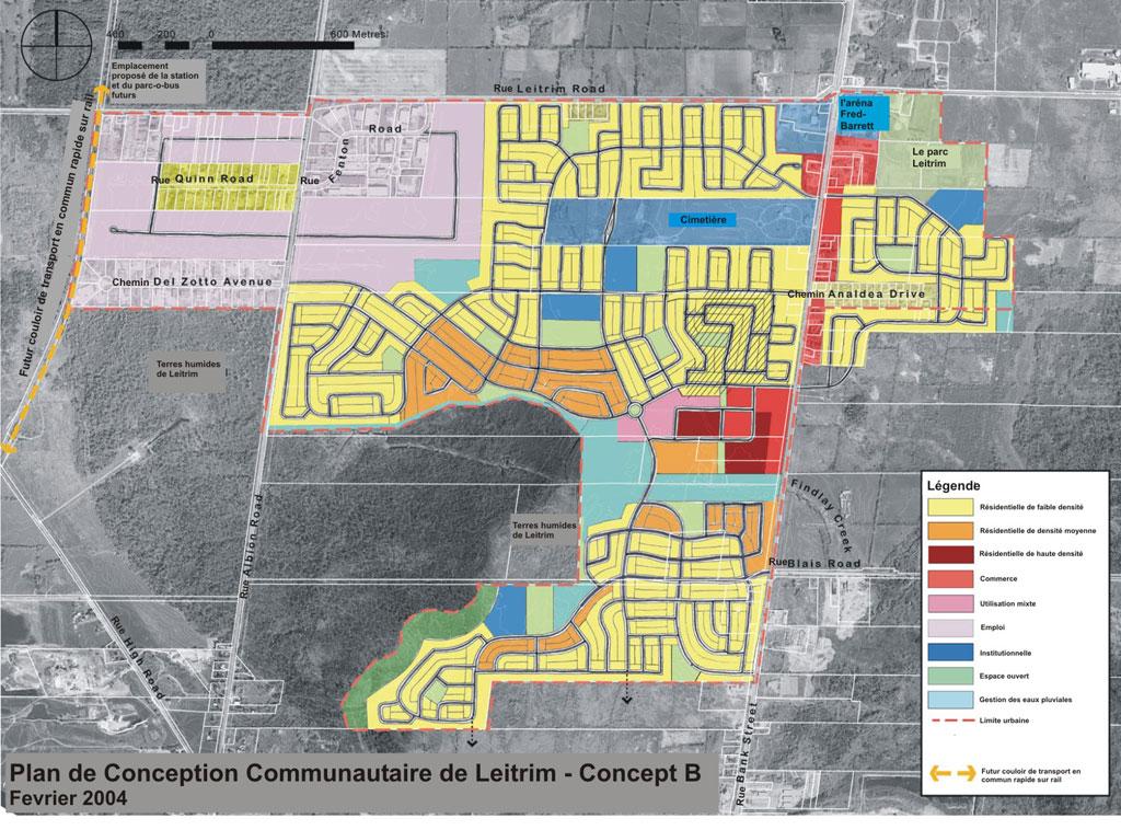 Plan de conception communautaire de leitrim ville d 39 ottawa for Plan de conception