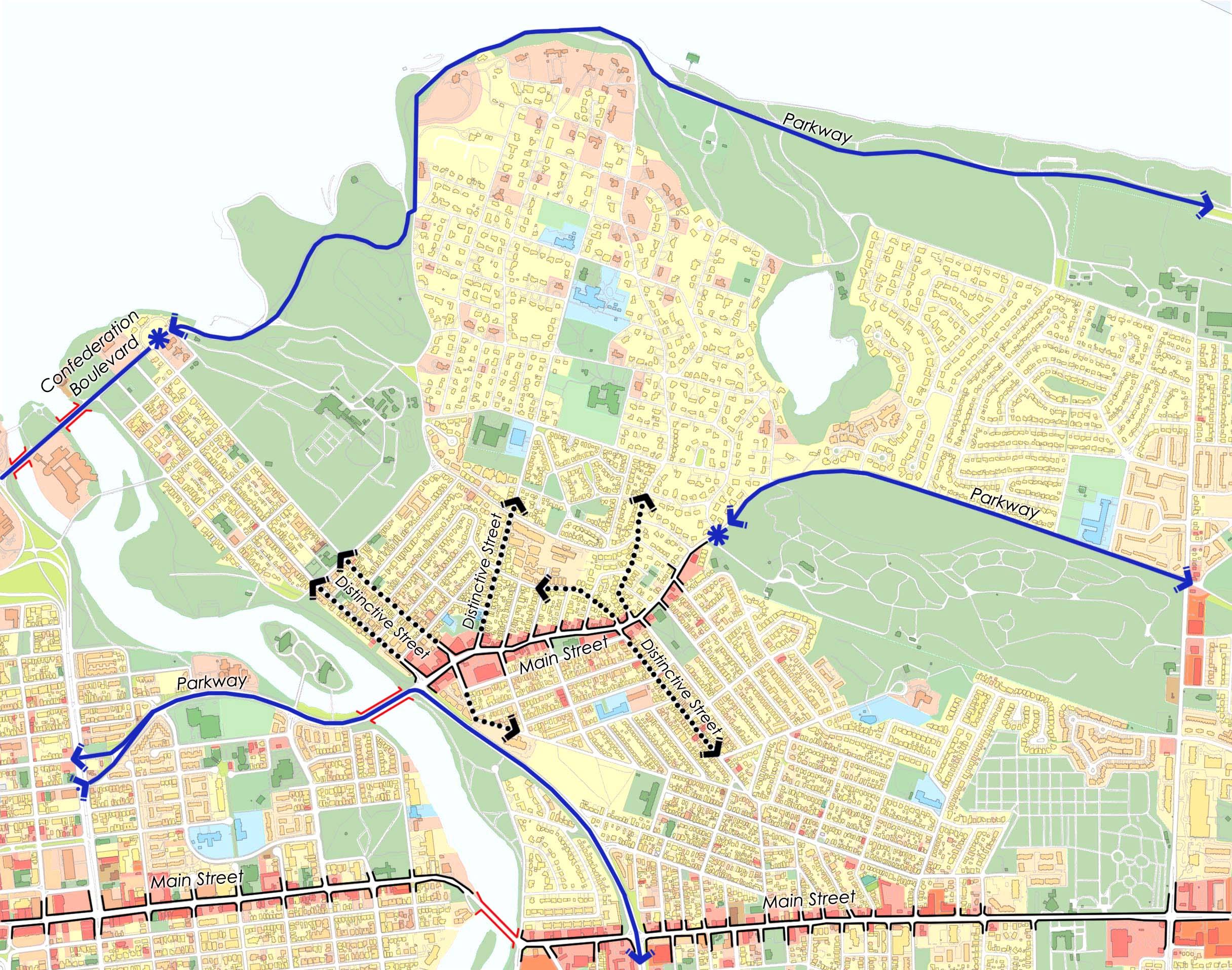 Plan de conception communautaire de beechwood ville d 39 ottawa for Plan de conception