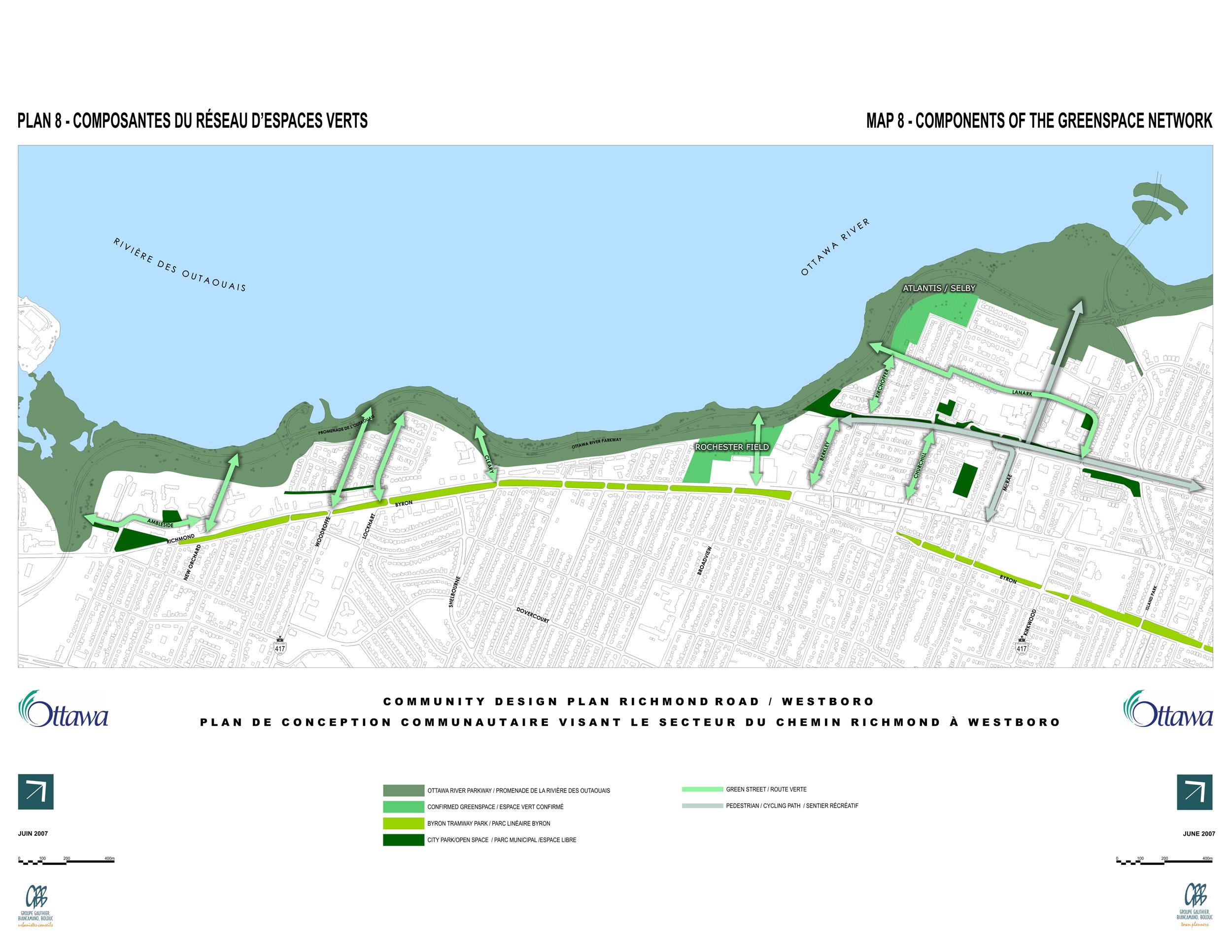 Plan de conception communautaire du secteur du chemin for Plan de conception