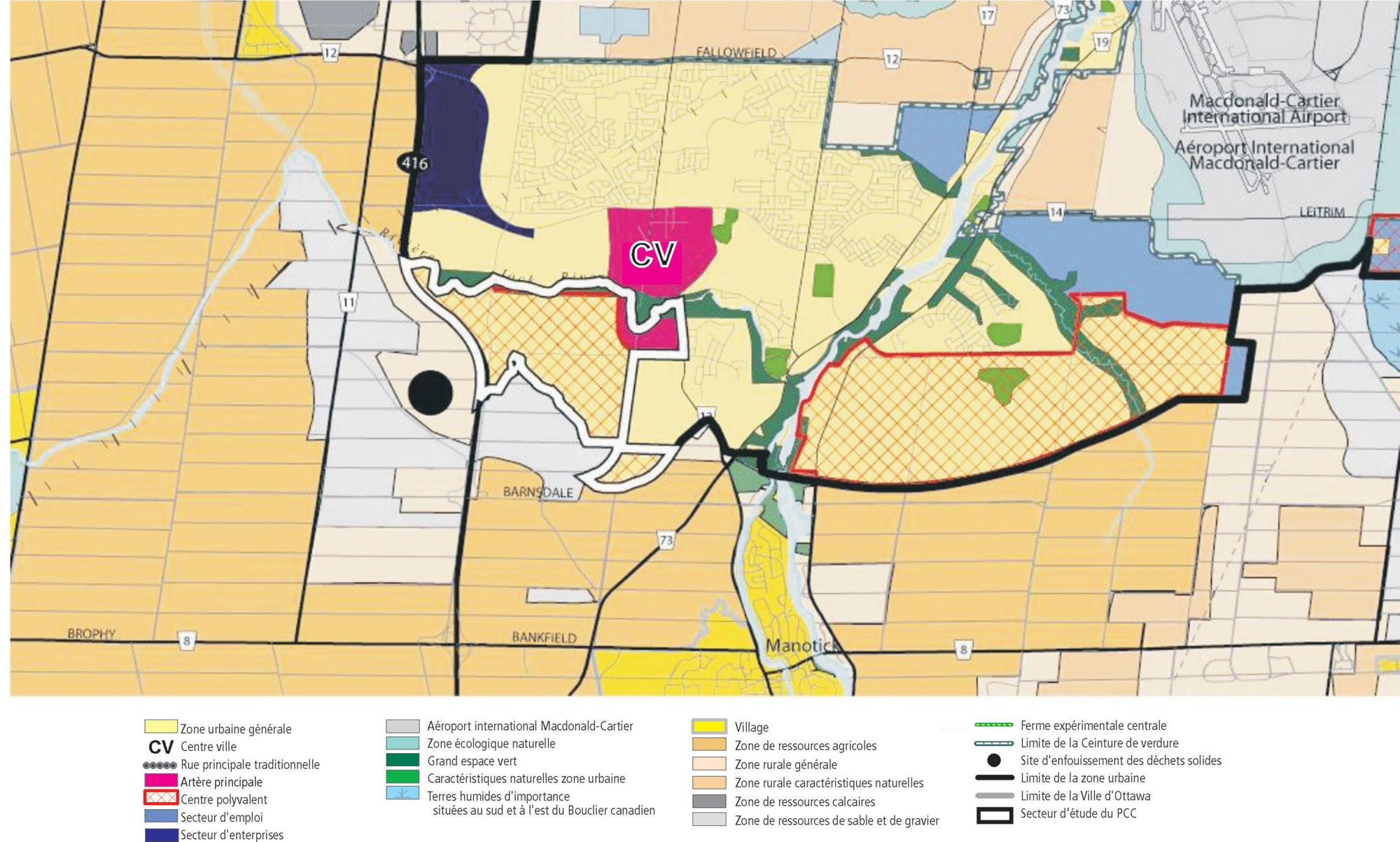 Plan de conception communautaire de barrhaven sud ville for Plan de conception