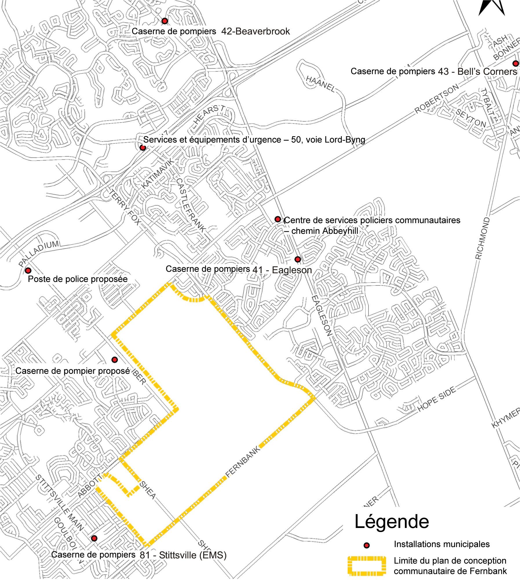 Plan de conception communautaire de fernbank ville d 39 ottawa for Plan de conception