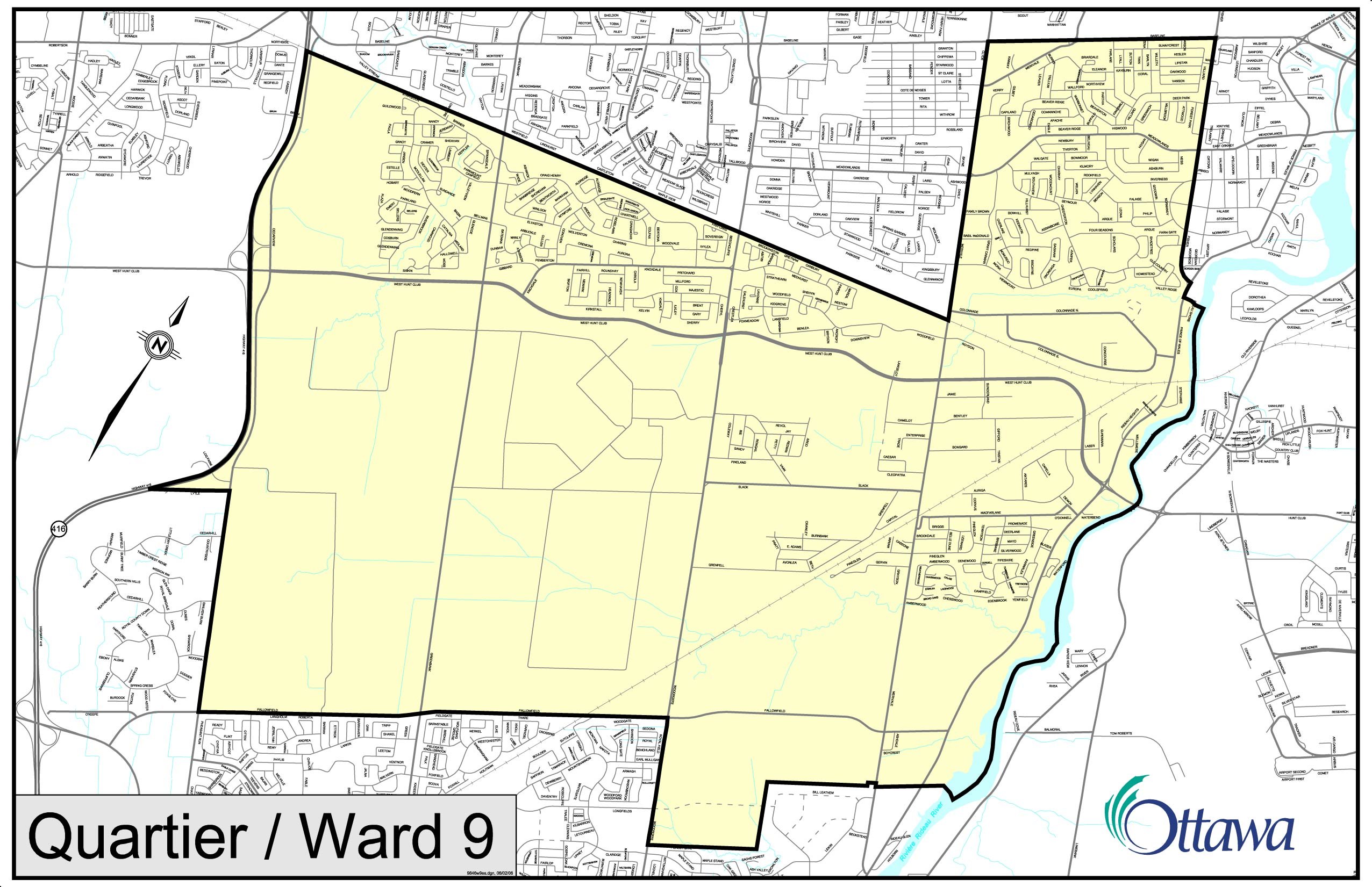 New Ward Structure And Ward Maps City Of Ottawa