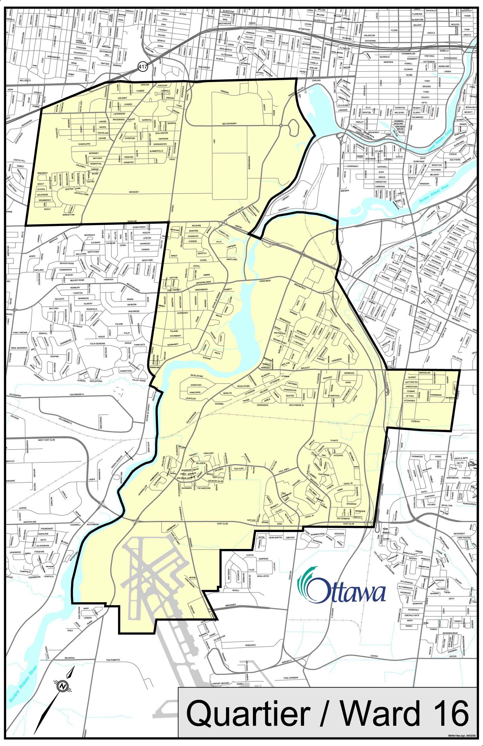 New ward structure and ward maps | City of Ottawa