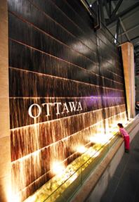 Ottawa Airport Fountain