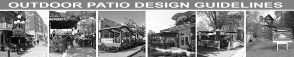 Outdoor Patio Design Guidelines