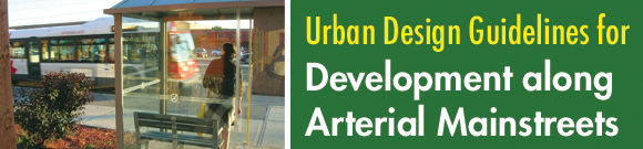 Urban Design Guidelines for Development along Arterial Mainstreets