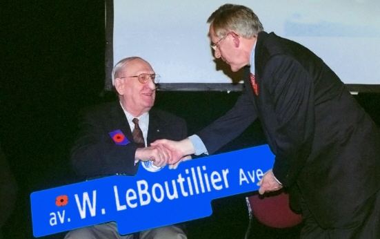 Mr. Eric Maloney and Mayor Bob Chiarelli