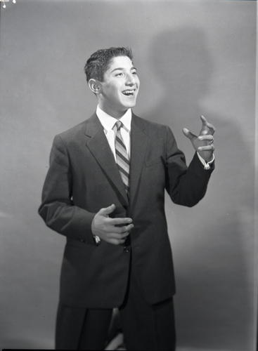 Portrait of Paul Anka.