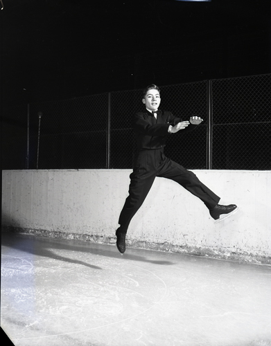 Don Jackson, 1960 Olympic bronze medalist in figure skating.