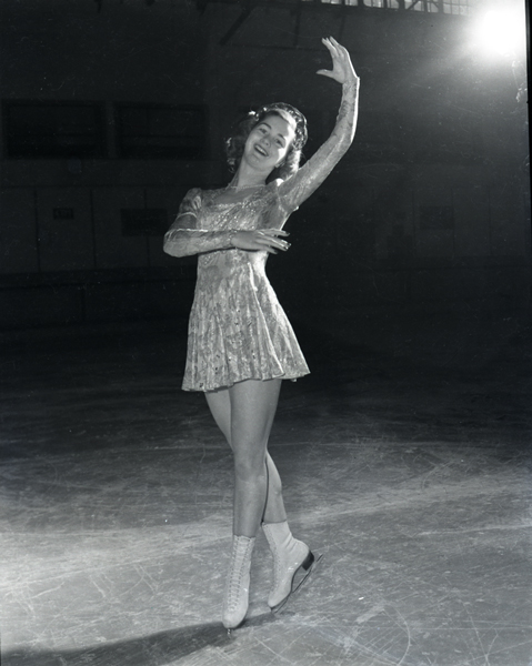 1948 Olympic gold medalist in figure skating.