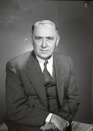 Mayor Stanley Lewis. Lewis was one of Ottawa's longest serving Mayors, remaining in office from 1936-1948.