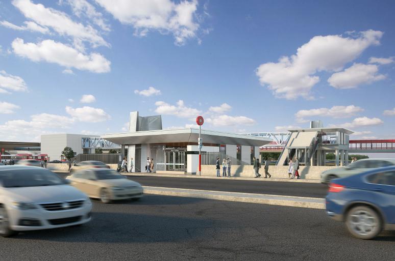 Cette image est une représentation artistique de la conception de Station Place D'Orleans. Le produit final peut différer de l'illustration.