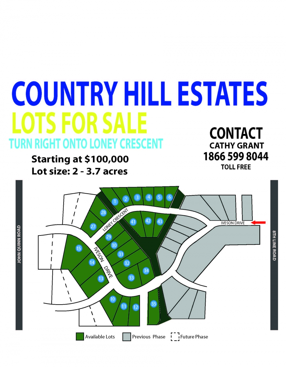 Country Hills Estates Lots