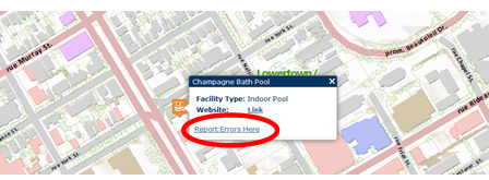However If You Notice An Error Please Submit It By Clicking On The Link Report Errors Here Found On The Map When Data Is Displayed