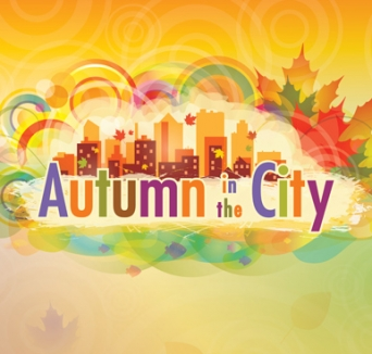 Autumn in the city logo